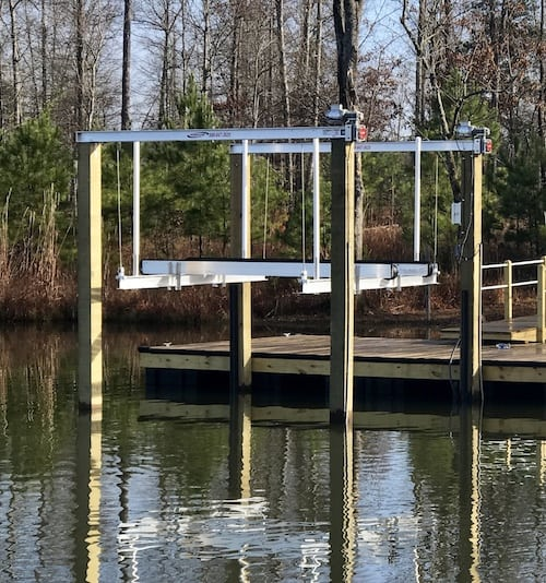 Custom PWC Lifts | PWC Lifts | Camden, SC | Reliable Docks